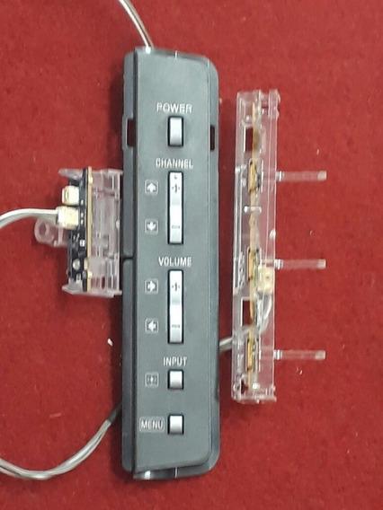 Teclado Funções Sensor Cabo Lvds Flat Klv-46s510a Klv46s510a