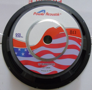 Parlantes Subwoofer 12 Pulgadas 950w Usa Pioner Jbl Sony