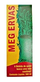 Meg Ervas Detox Digestivo Natural - 500ml Vida Natural
