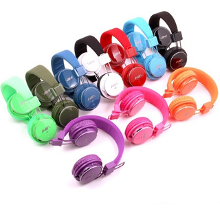 Audífono Bluetooth Nia (fm, Micrófono, Micro Sd, Auxiliar)