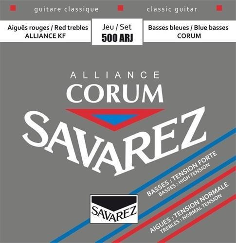 Encordado Guitarra Clasica Savarez 500 Arj Normal Alta
