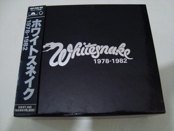 Whitesnake 1978 1982 Box Sunburst Years 4 Cd Japon