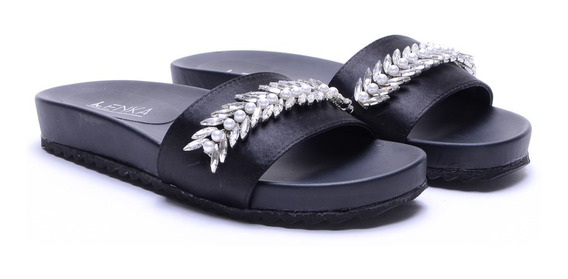 Sandalias Mujer Chatitas Ojotas Cómodas Moda Verano Heben Calzados