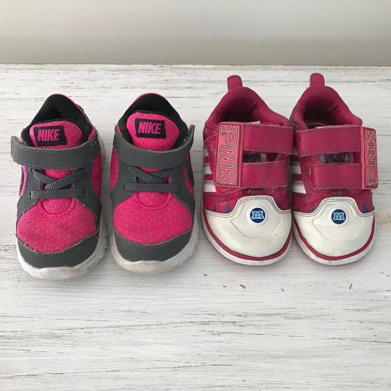Combo Zapatillas Niña - Nike Y adidas