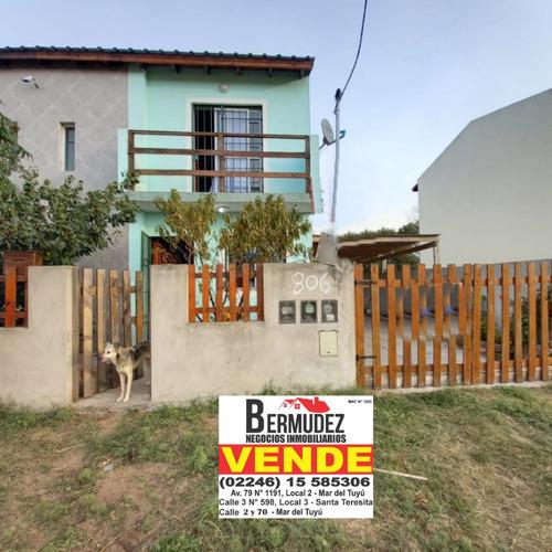 Venta Duplex 3 Amb Al Frente En Esquina 69 Y 8 Mar Del Tuyu