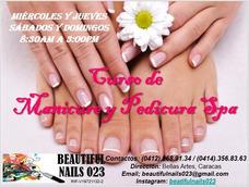 Curso Manicure Y Pedicure Spa Excelente!!