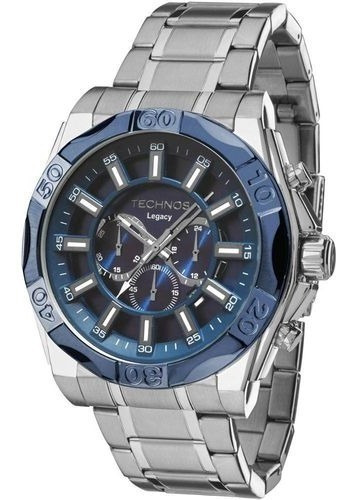 Relógio Masculino Technos Js25bb/1a Classic Legacy 56mm Prat