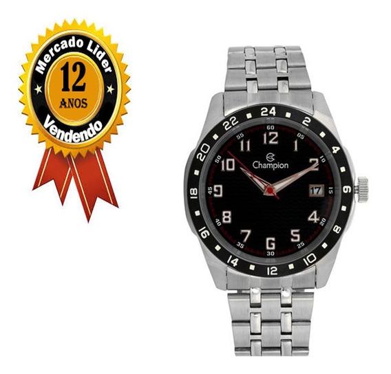 Relógio Masculino Champion Original Pulseira Aço Ca31382t