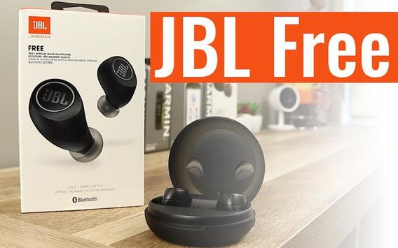 Fone De Ouvido Jbl Free Wireless Bluetooth Lançamento
