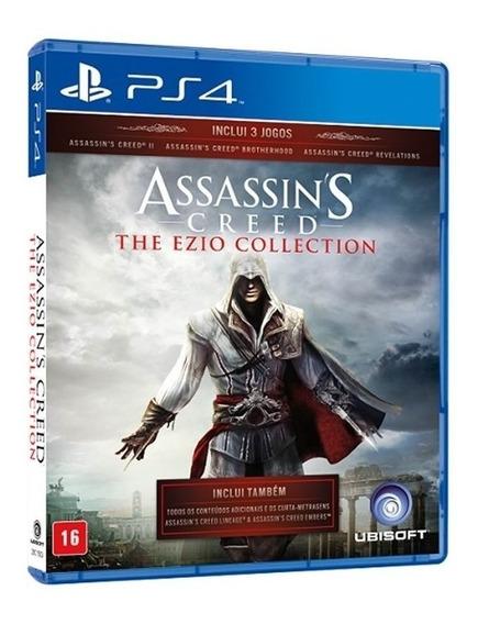 Assassins C 2 + Brotherhood + Revelations - Midia Fisica Ps4