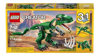 Lego Creator Mighty Dinosaurs 31058 Dinosaurios 3 En 1