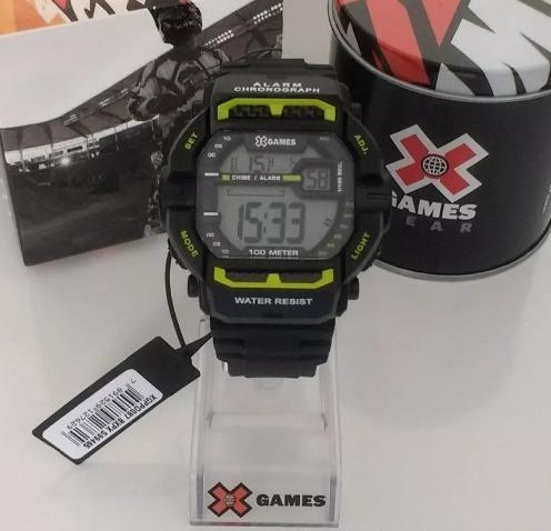 Relogio X Games Original Modelo Parecido G-shock