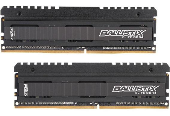 Memorias Crucial Ballistix Elite 8gb(2x4)3200mhz Ddr4 Mt/s