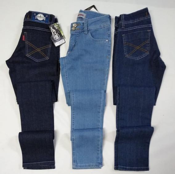 Calça Jeans Feminina Skinny Smith Brothers 3 Cores