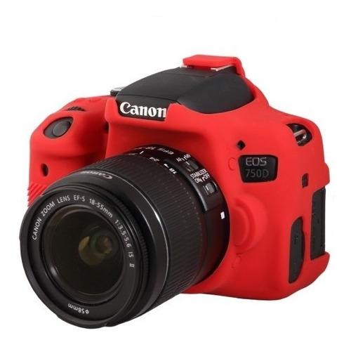 Protector Case De Silicona Cámara Canon Nikon Dslr Easycover