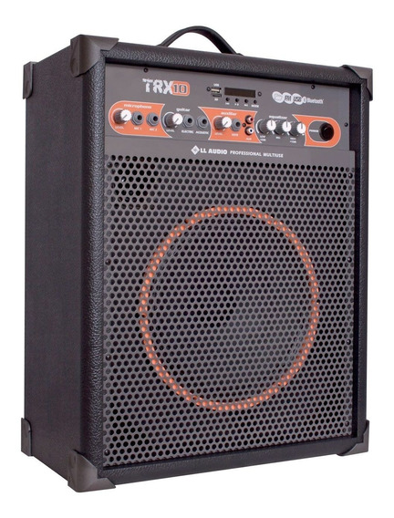 Caixa De Som Ll Audio Multiuso 10 60w Trx10 Usb Bluetooth