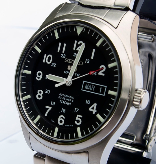 Relógio Seiko 5 Automático Sport Snzg13k1 23 Jóias