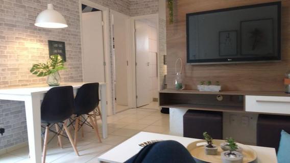 Apartamento Em Campo Grande, Rio De Janeiro/rj De 42m² 2 Quartos À Venda Por R$ 168.000,00 - Ap194855