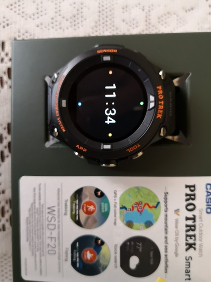 Casio Pro Trek Smartwatch Wsd F20
