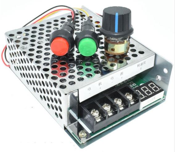 Pwm Controlador Velocidade Motor 12v 40a Digital E Reversão