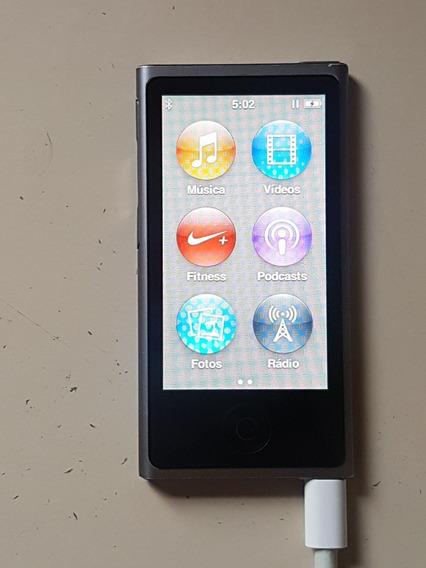 iPod Nano 7 Geração Cinza Usado, Em Ótimo Estado