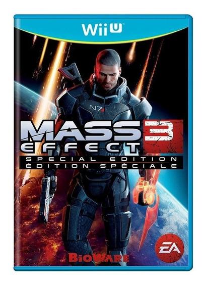 Mass Effect 3 Wii U Mídia Física Pronta Entrega