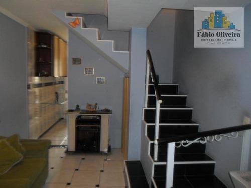 Sobrado Residencial À Venda, Vila Luzita, Santo André - So0230. - So0230