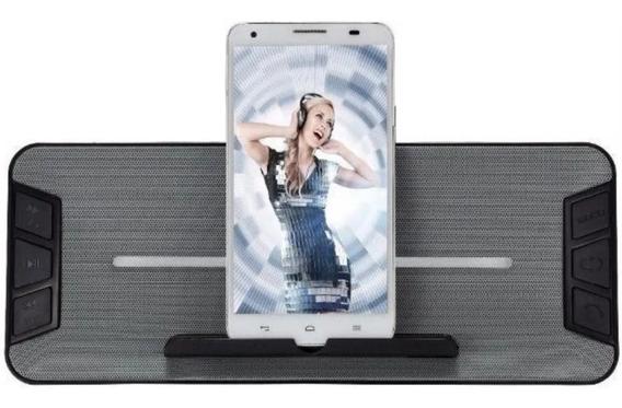 Caixa De Som Bluetooth Usb Rádio Fm Auxiliar P2 Card Sd