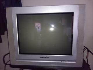 Televisor Pantalla Plana 21 Kneissel Con Control Remoto