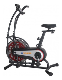 Bicicleta Fija Resistencia De Aire Fitness Station K8209