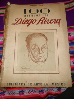 Libro 100 Dibujos De Diego Rivera Edición Limitada 1949