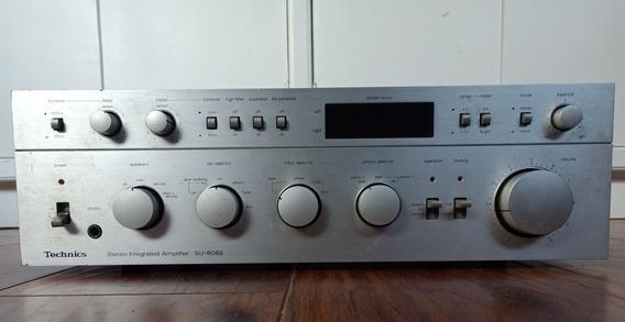 Technics Su 8088 Amplificador Integrado Funcionando