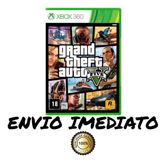 Gta 5 Xbox 360 Mídia Digital