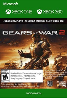 Código Gears Of War 2 / Xbox 360 Y One / Entrega Inmediata