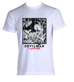 Camiseta Allsgeek Devilman Crybaby Akira Fudo Anime Adulto 8