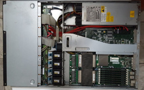 Servidor Supermicro Rack 1u - 2 Processadores - 16gb - 2tb