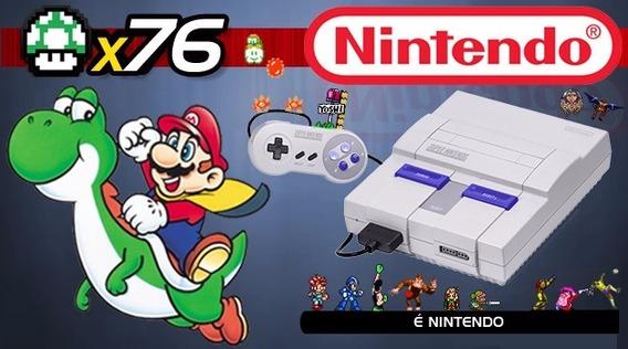 Super Nintendo + Nintendo 64 + Mega Driver + Frete Grátis