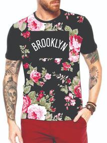 Camiseta Floral Camisa Blusa Masculina Atacado Revenda 10 Pç