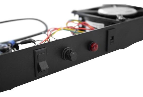 Sistema De Ventilação Quadruplo Para Rack