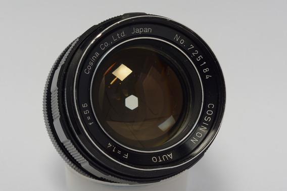Lente Cosina 55mm 1.4 (lente Analógica)