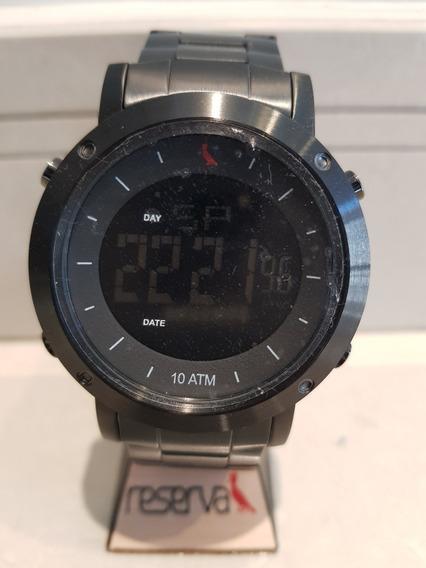 Relógio Masculino Preto Reserva