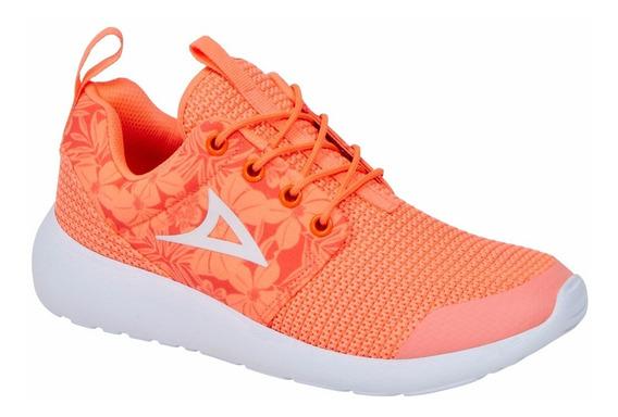 Tenis Pirma Deportivo Color Naranja