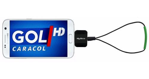 Imagen 1 de 9 de Receptor Tv Digital Tdt Para Celular / Tablet, Mygica Pt360