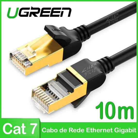 Cat7 Cabo Rede - Ugreen 3m Cat 7 Gamer Gigabit Ps4 Xbox One