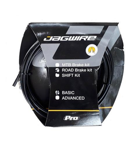 Imagen 1 de 2 de Juego De Cables Y Fundas De Freno Jagwire Basic Bici  Ruta
