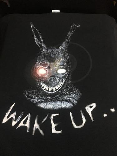 Imagen 1 de 3 de Donnie Darko Wake Up.. - Peliculas De Culto - Polera- Cyco R