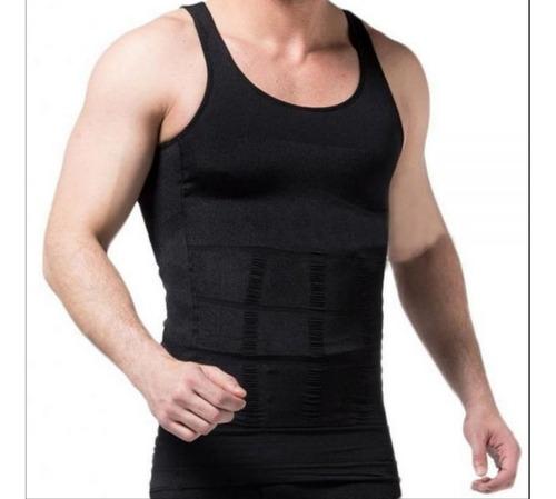 Imagem 1 de 5 de Cinta Modeladora Masculina Slim Fitness Melhora Postura