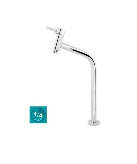 Torneira P/lavatório Link Soft 45° 1/4 Volta Bica Alta