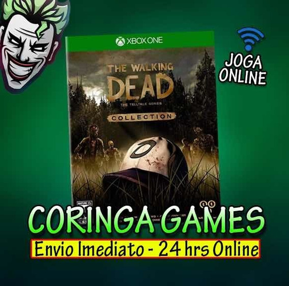 The Walking Dead Collection Xbox One Mídia Digital + 2 Jo