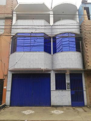 Venta Casa 3 Pisos En San Juan De Lurigancho